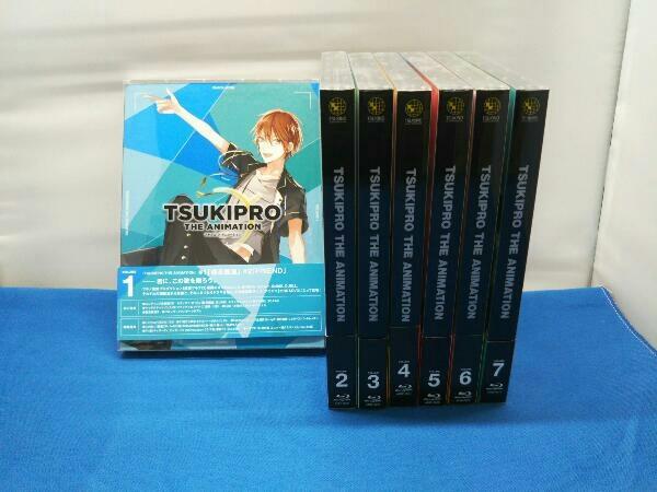 付属品欠品1円スタート 【※※※】[全7巻セット]TV TSUKIPRO THE ANIMATION(ツキプロ)第1~7巻(Blu-ray Disc)