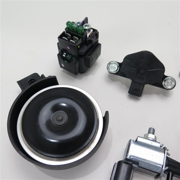 ♪CBR250RR-ABS/MC51 純正 電装セット/リレー/センサー/ホーン(H0517A06)_画像3