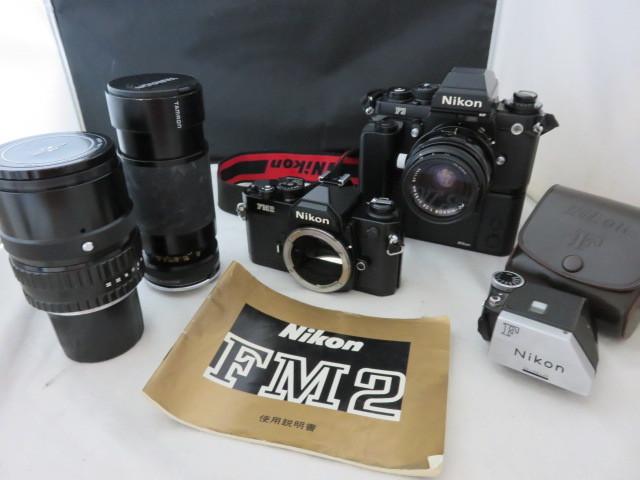 991☆ニコン NIKKOR 1:4 200mm/TAMRON 80-210/FM2/F3 2.8 35mm/MD-4 ジャンク扱 カメラ レンズ 1円~