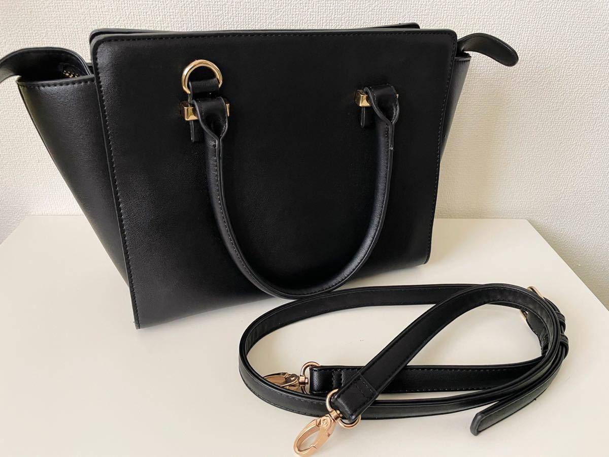 トートバッグ A5サイズ対応 レディース 通勤バッグ 黒 ショルダーバッグ 2wayバッグ ハンドバッグ バッグ