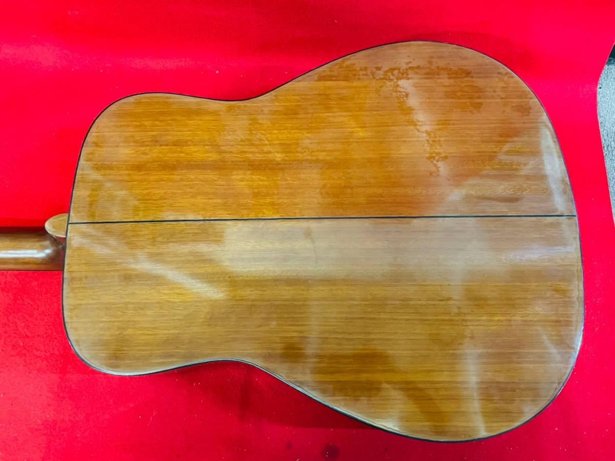 L-3707⑳: YAMAHA/ヤマハ FG-520M アコースティックギター 弦楽器 ソフトケース付 ジャンク品_画像6