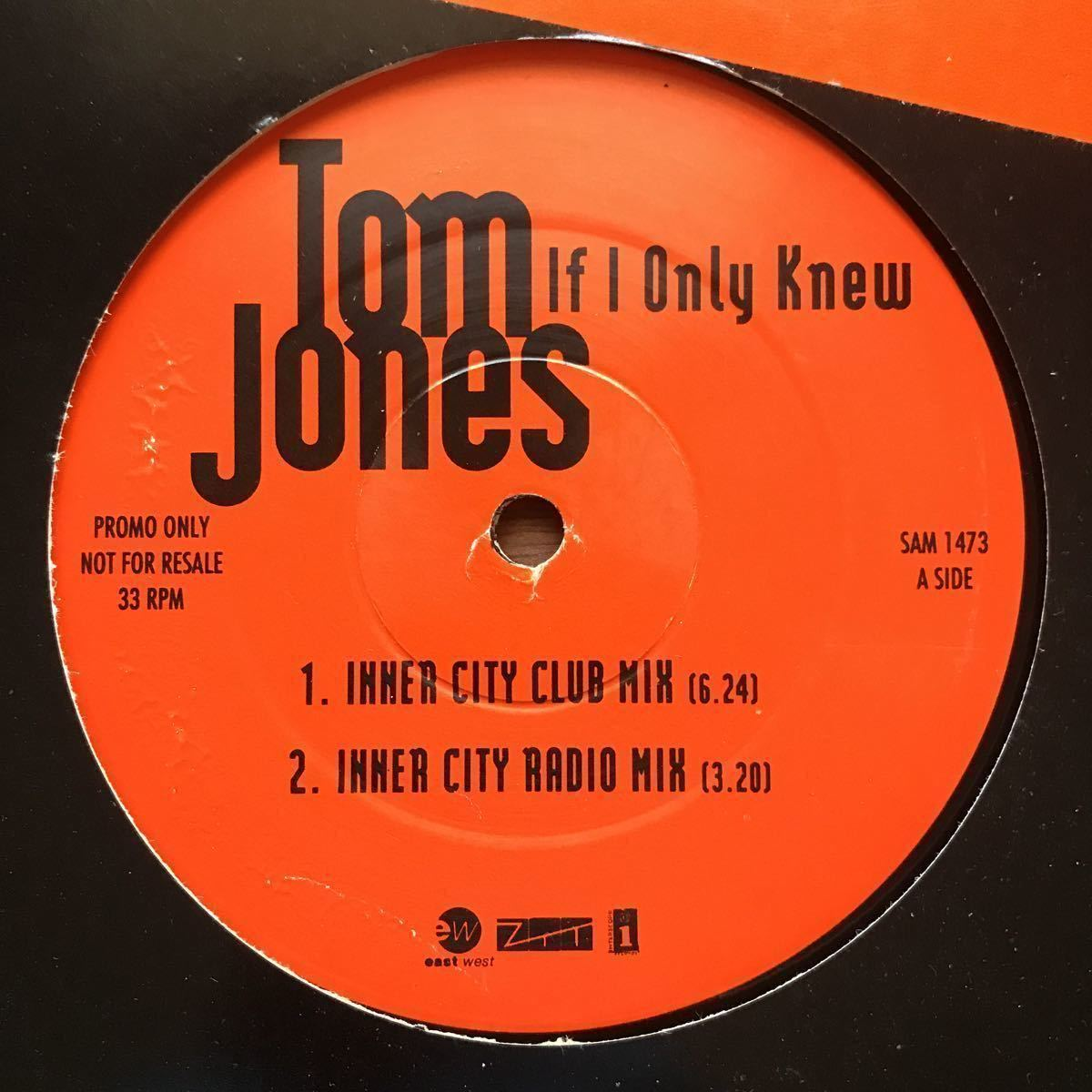 【house】Tom Jones / If I Only Knew _ The Inner City Mixes[12inch]オリジナル盤《1-4 9595》