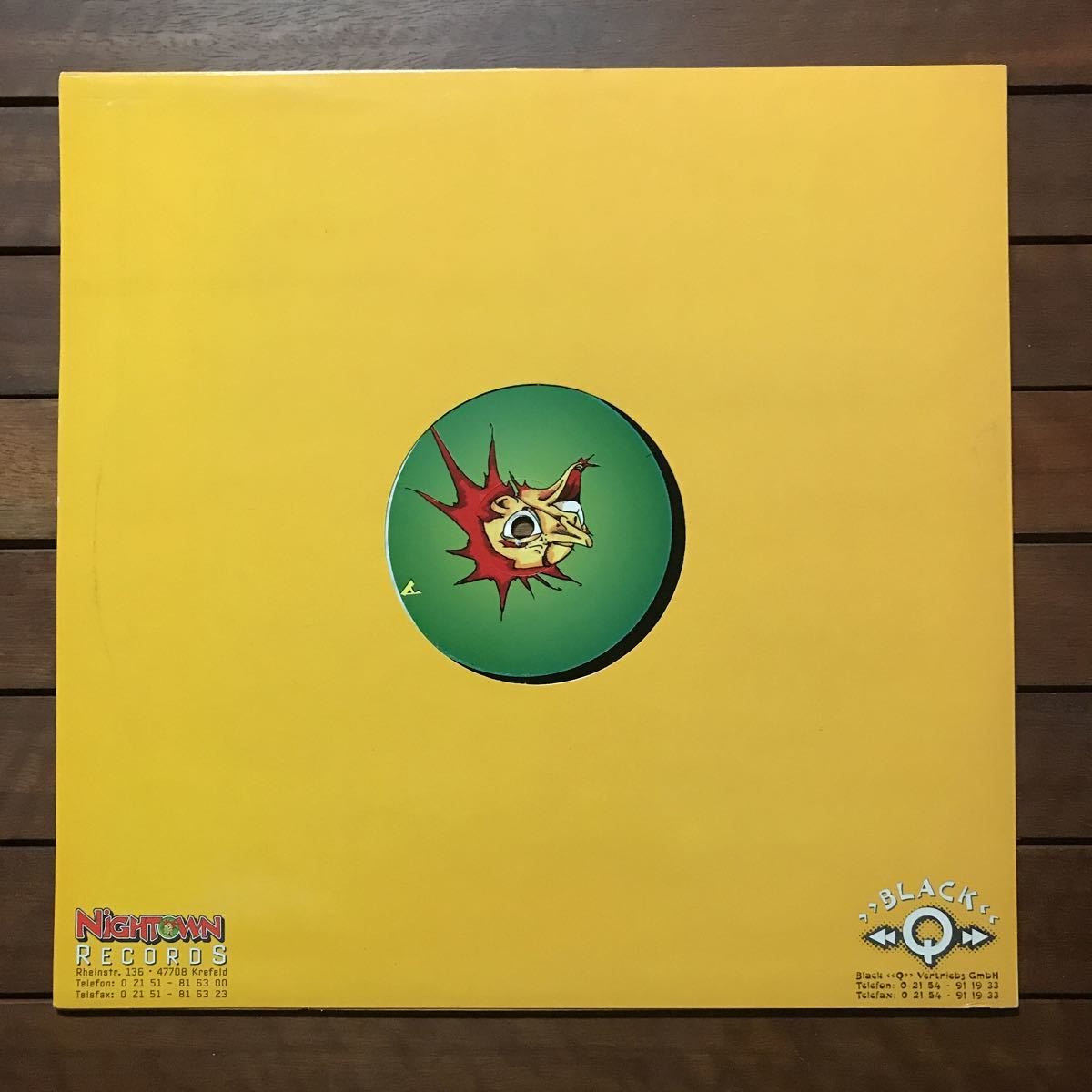 【eu-rap】Flip Da Scrip / Throw Ya Hands In The Air '95[12inch]オリジナル盤《3-2-77》