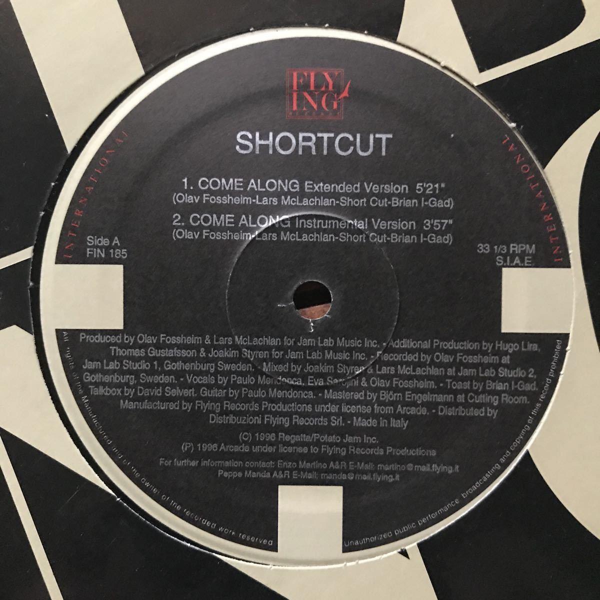 ●【eu-rap】Shortcut / Come Along[12inch]オリジナル盤