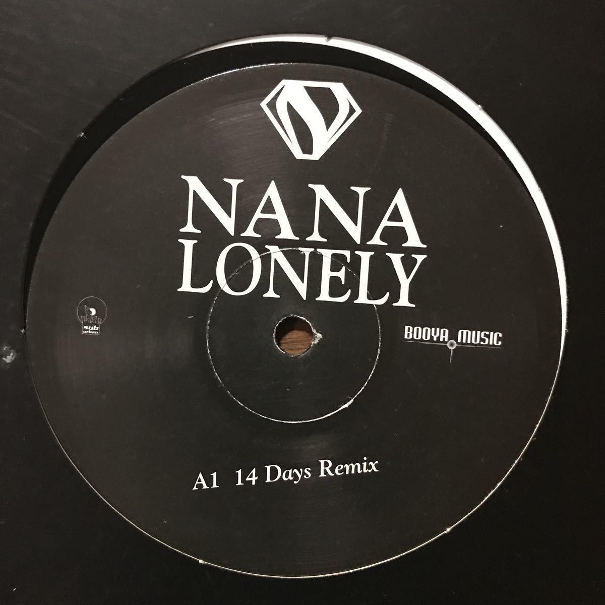 【eu-rap】Nana / Lonely[12inch]オリジナル盤《3-2-84》