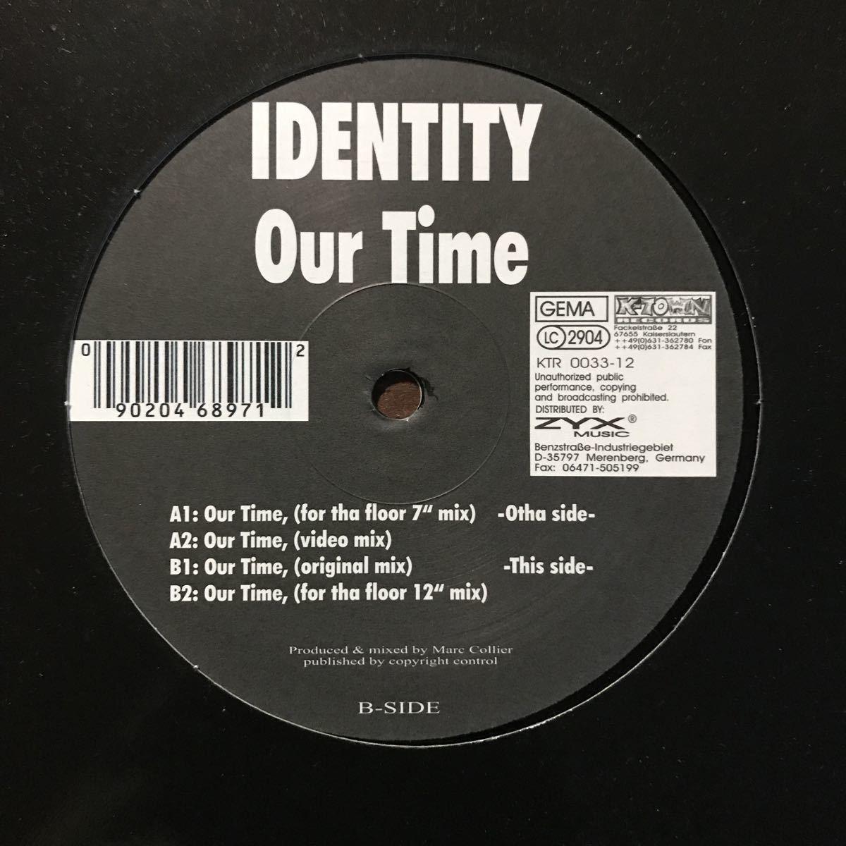 【eu-rap】Identity / Our Time[12inch]オリジナル盤《4-2-10》