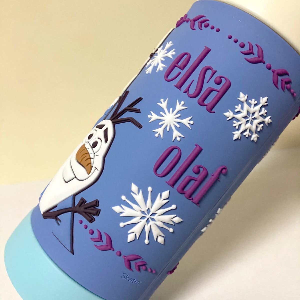 新品未使用 アナと雪の女王2   3D  保冷ダイレクトステンレスボトル  直飲み水筒 480ml