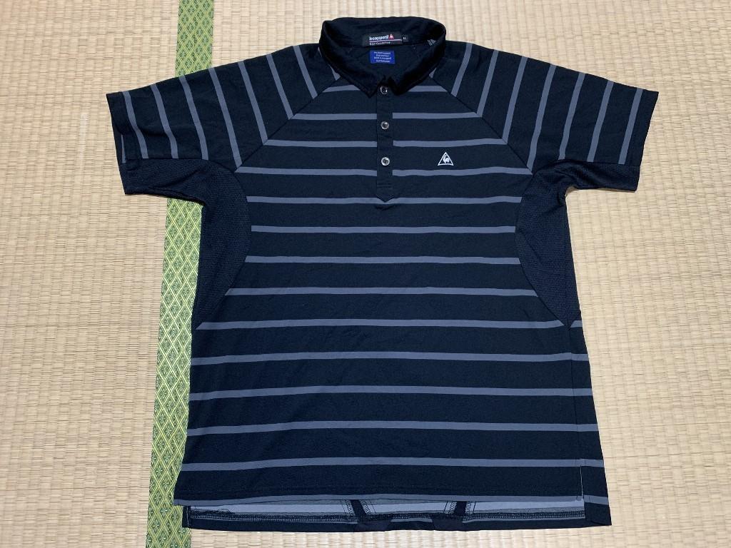 lecoqsportif/ルコック ゴルフ 半袖 ポロシャツ LL_画像1