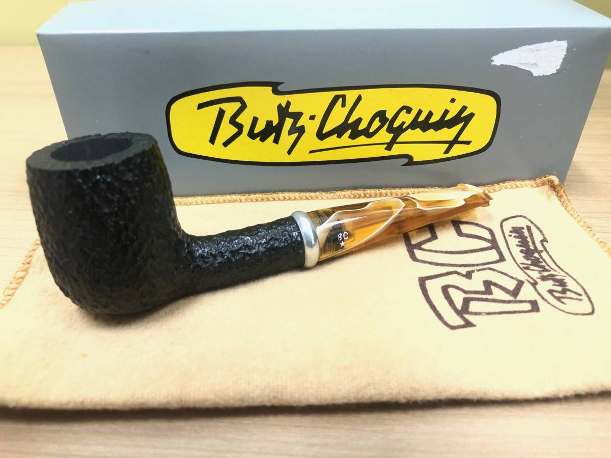 STS58☆BC Butz Choquin ブッショカン パイプ 喫煙具 STCLAUDE FRANCE 1601 喫煙道具 煙管 箱付