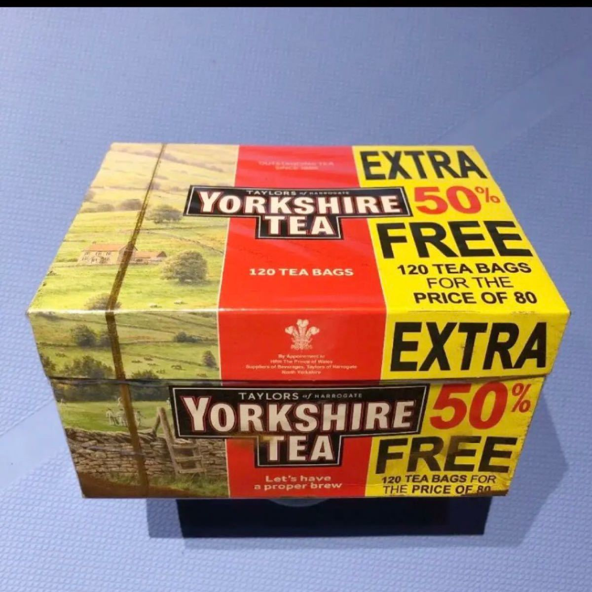 ヨークシャーティー(英国の紅茶)120ティーパック