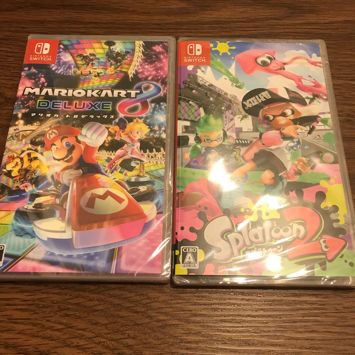 マリオカート8デラックス スプラトゥーン2 Nintendo Switch