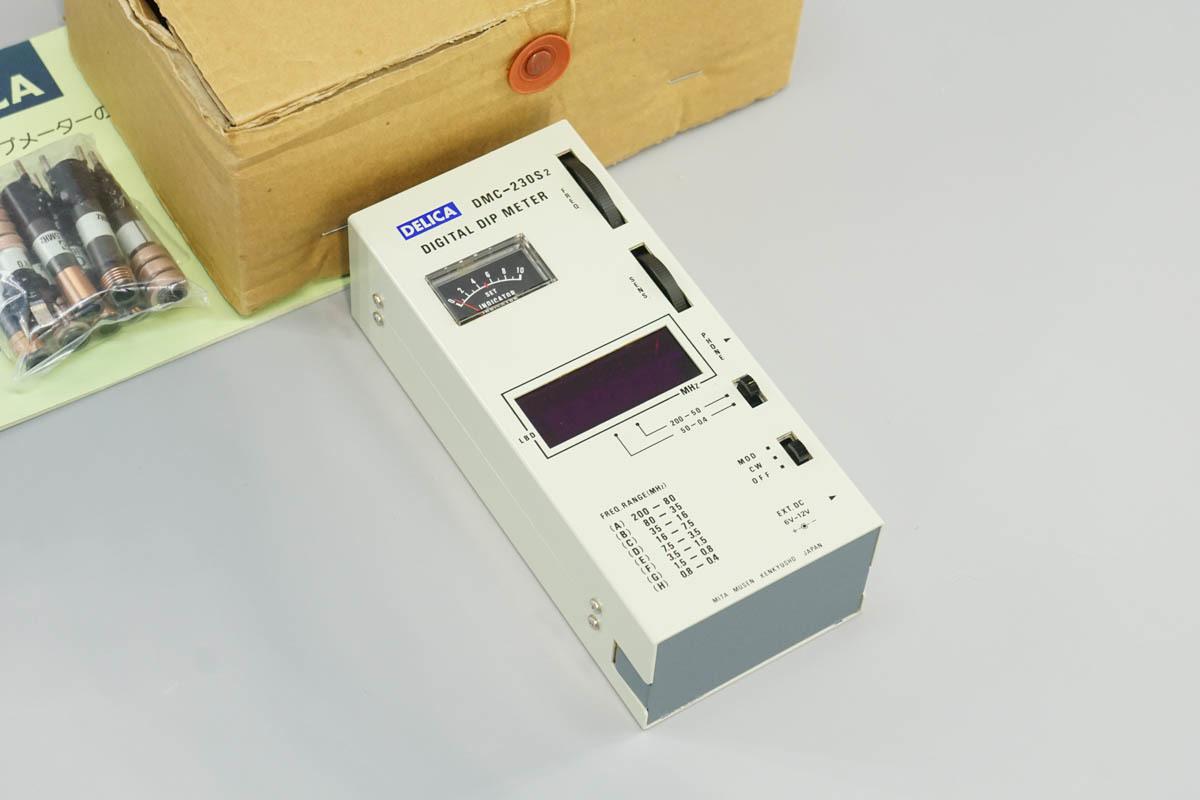[DW]USED MITA MUSEN DMC-230S2 DELICA DIGITAL DIP METER デジタルディップメーター 取扱説明書[ST02715-0008]
