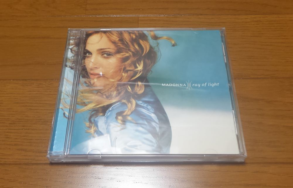 [帯付] 国内盤 マドンナ レイ・オブ・ライト Madonna ray of light CD ♪フローズン ♪パワー・オブ・グッバイ WPCR-2000 匿名配送 即決