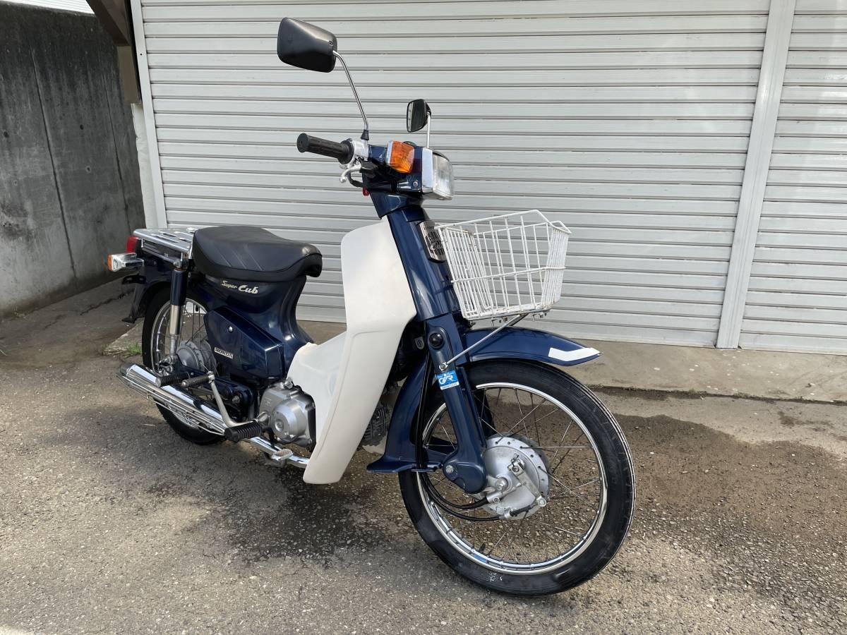 「ホンダ スーパーカブ 90 カスタム 走行17250 カブ HONNDA CUB 小型バイク」の画像1