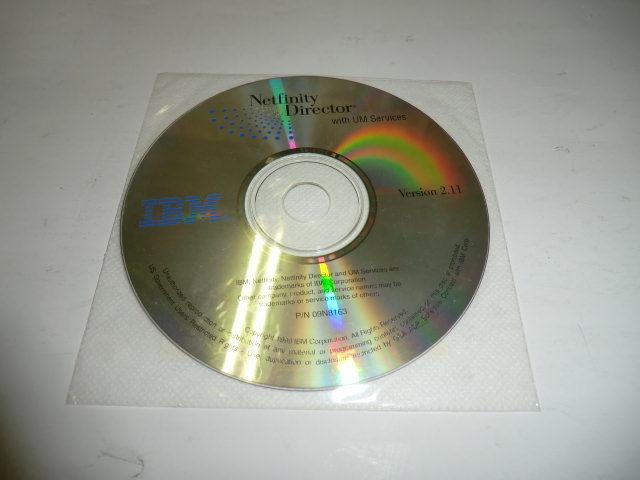 中古 IBM Netfinity Director CD Pack_画像3