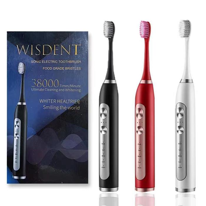 WISDENT電動歯ブラシ 歯ブラシ ハブラシ WISDENT 音波歯ブラシ 充電式 ウルトラソニック電動 IPX7防水 ホワイト