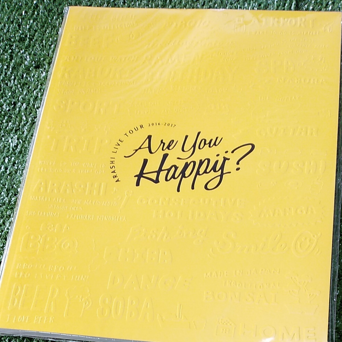 ARASHI Are You Happy? 嵐ARASHI パンフレット