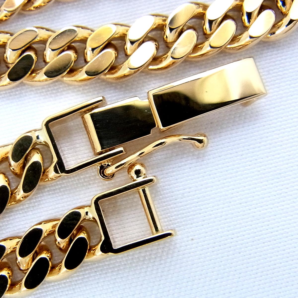 展示品 K18 喜平 2面 シングル ブレスレット 20.2g 長さ:18cm 幅:5.3mm イエロー ゴールド 造幣局刻印 ∞_画像5