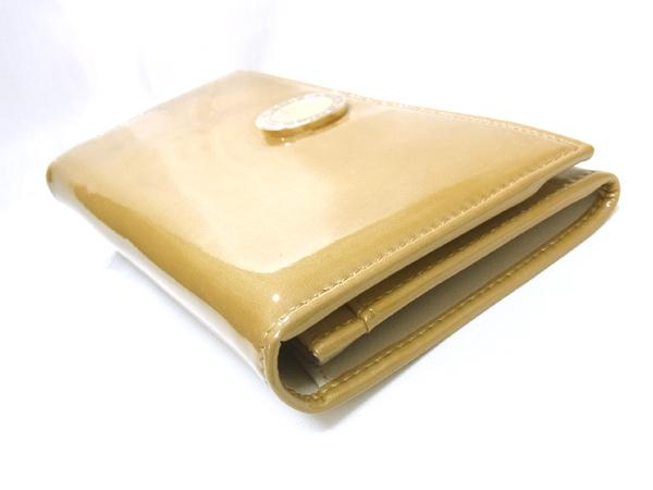 ブルガリ 33761 エナメル アンティークゴールド 長財布 未使用 ● $_画像7