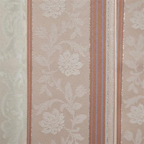 ◆即決◆ 新品 アウトレット品 ユニベール 厚地カーテン アングル RO 100×178cm 2枚入 形状記憶 洗濯可能 フック付 ローズ ピンク 植物柄_画像9