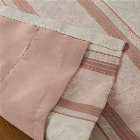 ◆即決◆ 新品 アウトレット品 ユニベール 厚地カーテン アングル RO 150×135cm 1枚入 形状記憶 洗濯可能 フック付 ローズ ピンク 植物柄_画像8