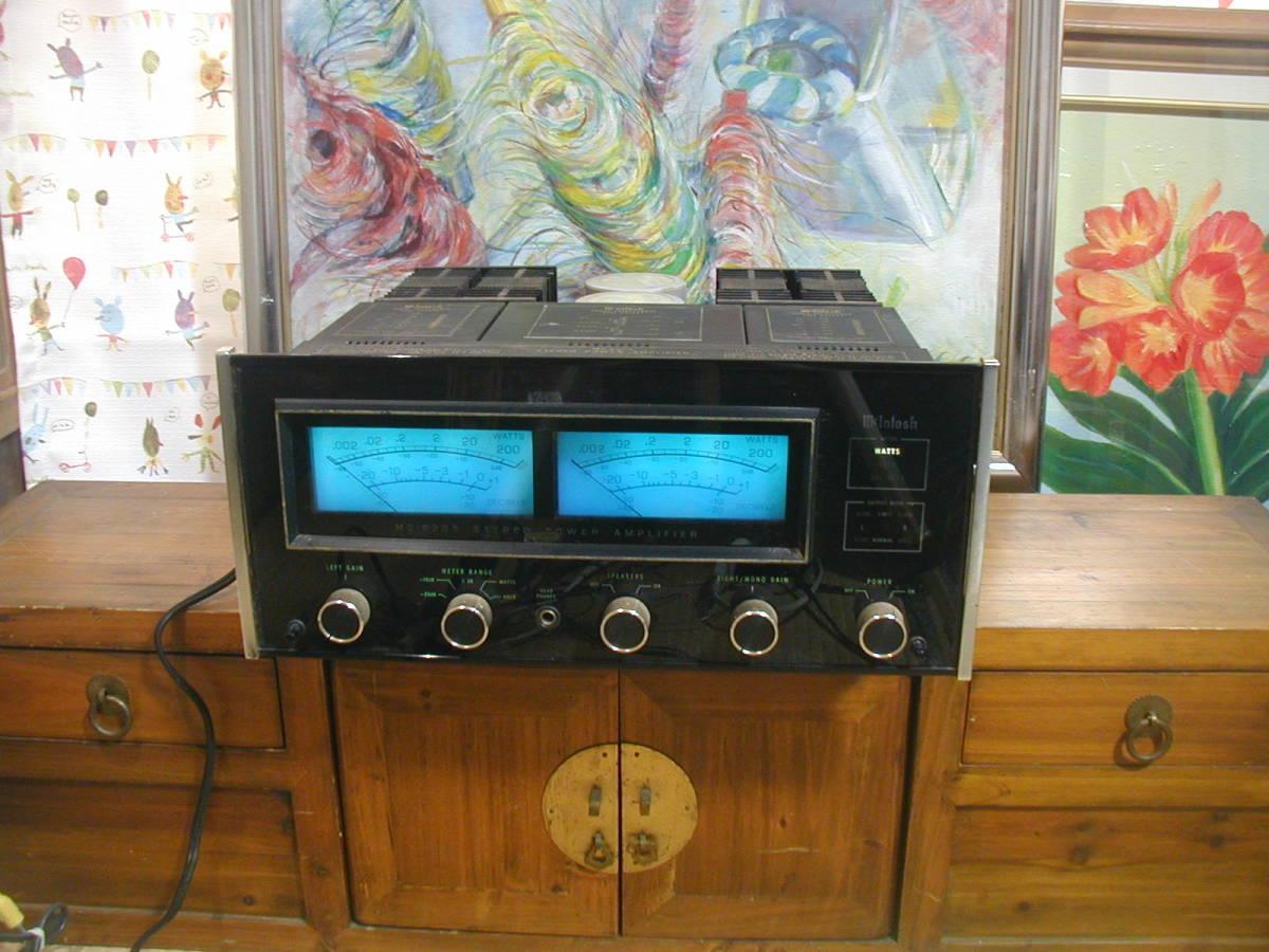 ★☆アメリカMcIntosh製、MC2205パワーアンプです。1983年頃788000円していました。 動作良好。 ☆★_画像2
