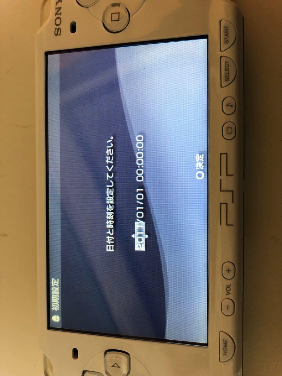 PSP-2000CW SONY プレイステーション・ポータブル セラミック ホワイト