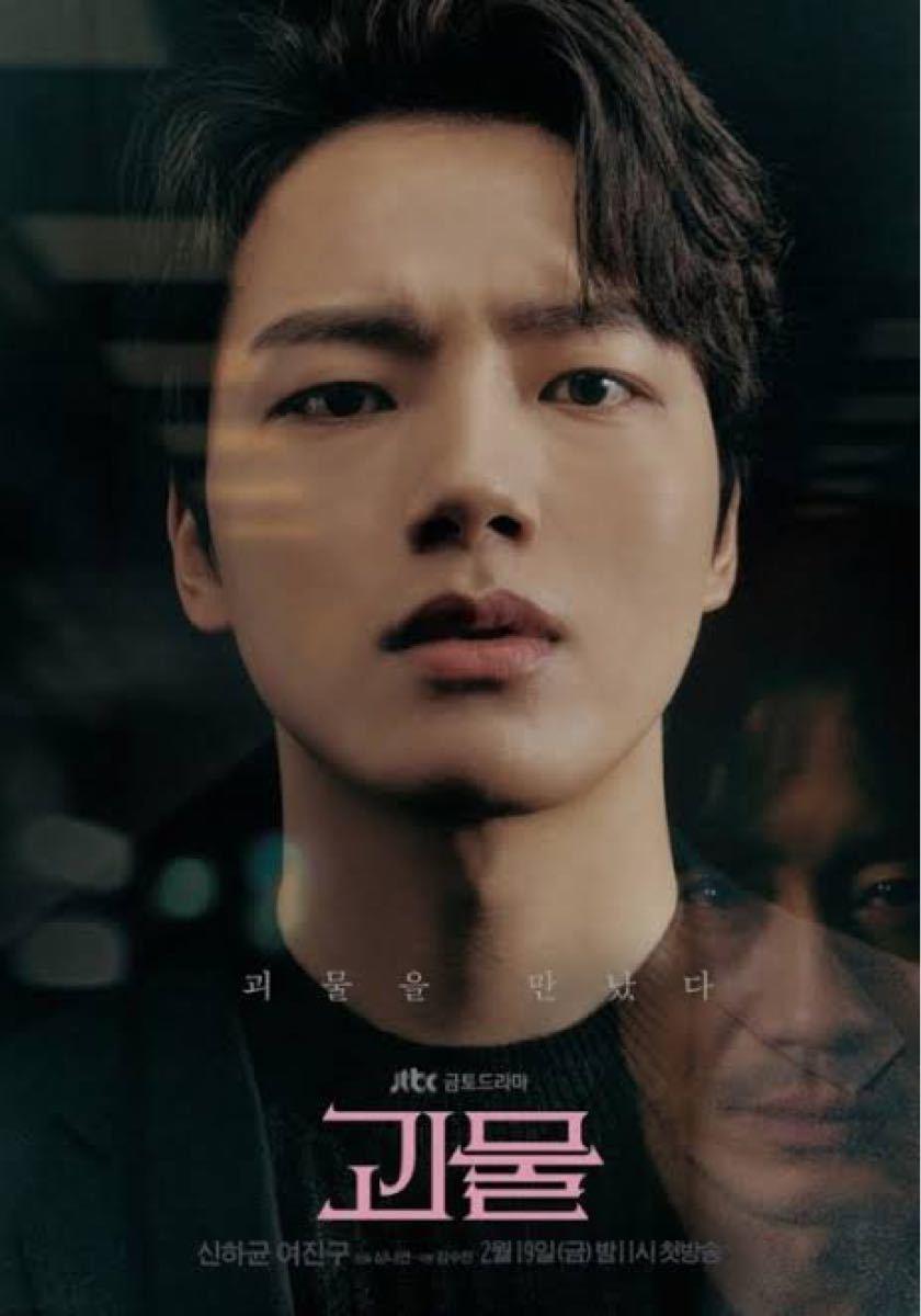 韓国ドラマ 怪物 DVD『レーベル印刷有り』全話