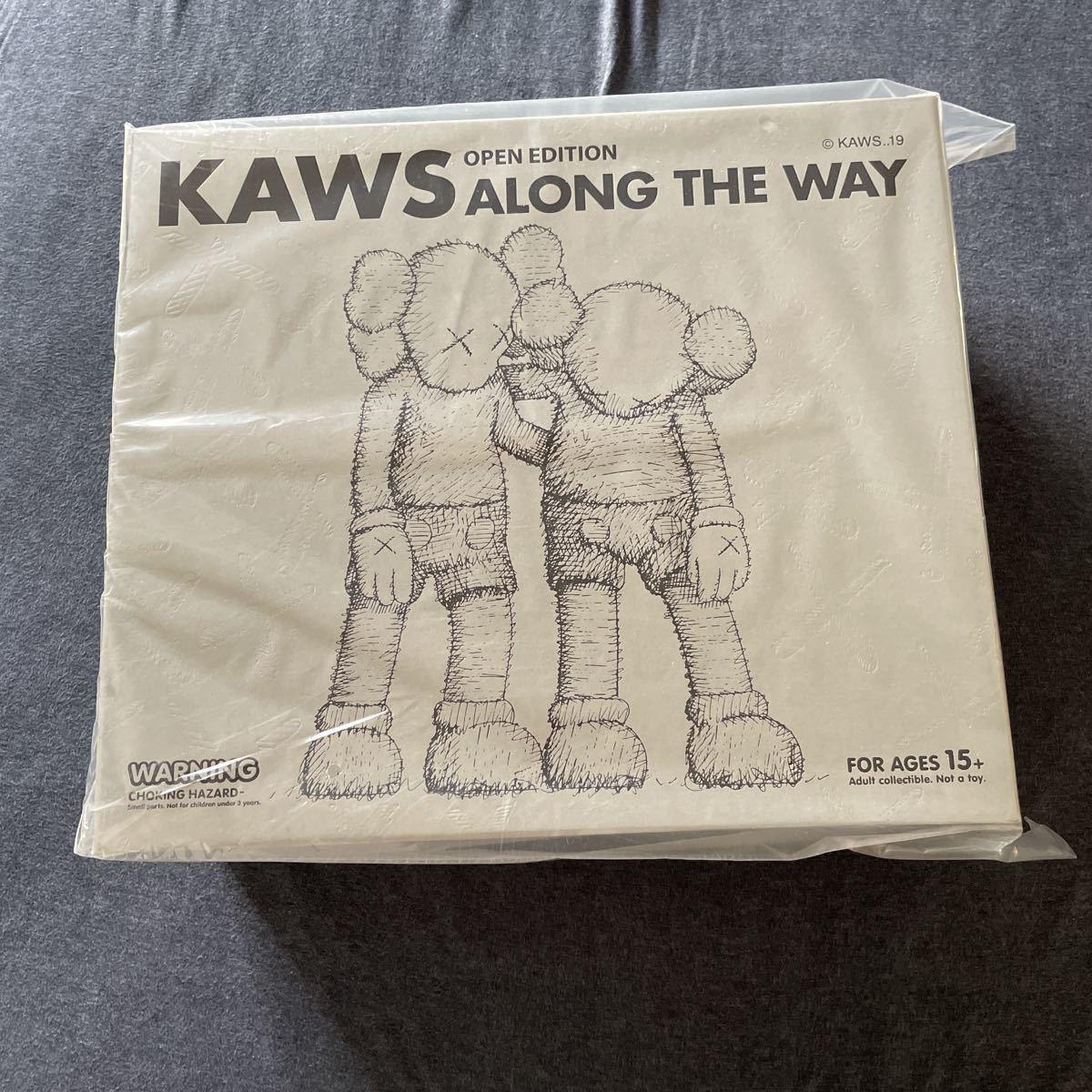 未開封 KAWS ALONG THE WAY GREY メディコムトイ ベアブリック グレー_画像1