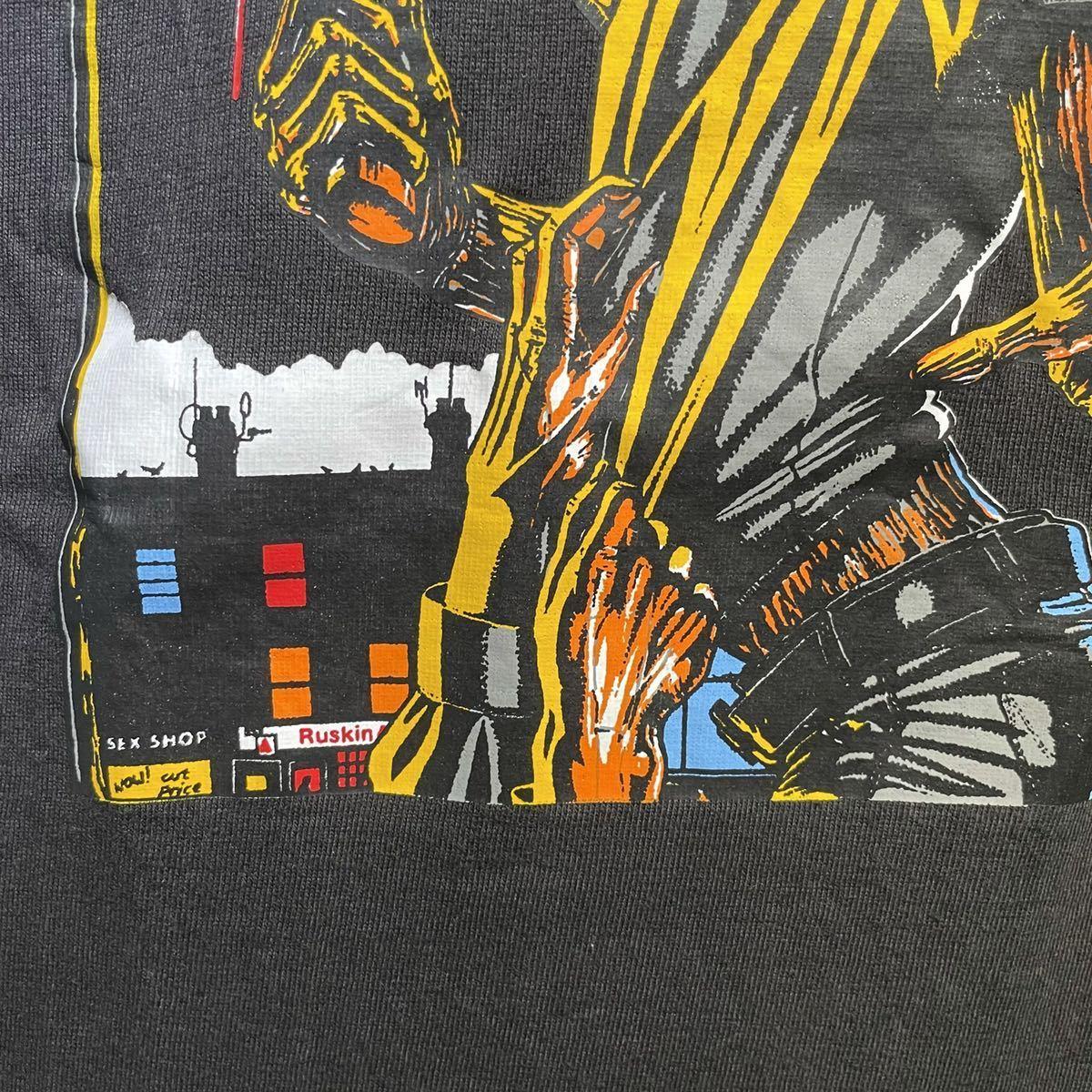 【希少】'00 IRON MAIDEN バンド Tシャツ Australia製 L ヴィンテージ / Metallica Guns N' Roses AC/DC Led Zeppelin Nirvana 80s 90s_画像4