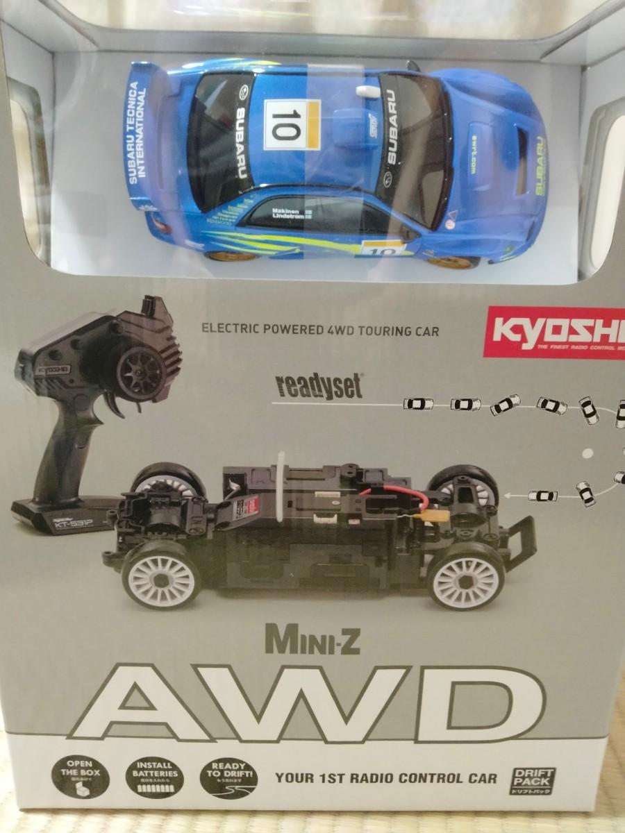 京商ミニッツ AWD レディセット 2002 インプレッサWRC