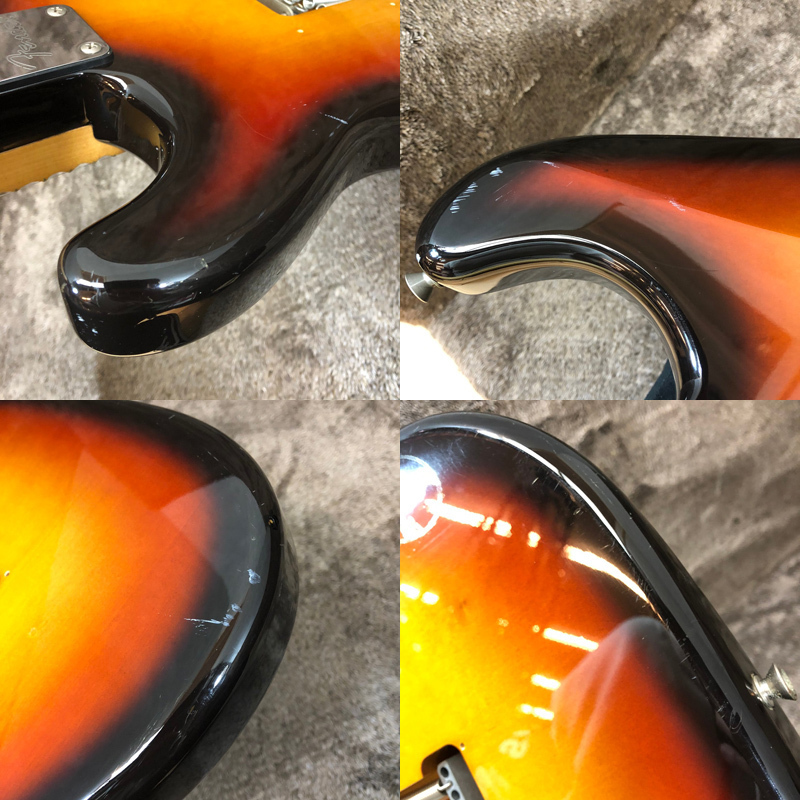 △動作確認済 Fender Japan ST-43 MOD フェンダージャパン ストラトキャスター 1円スタート 同梱不可【楽器】_画像8