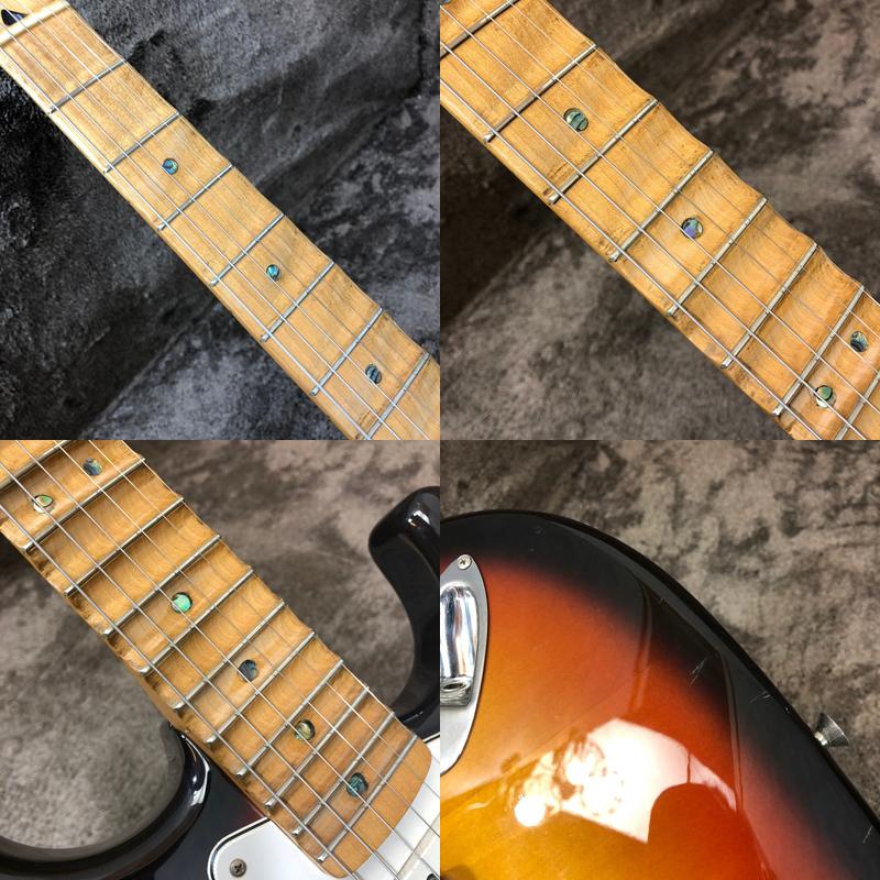 △動作確認済 Fender Japan ST-43 MOD フェンダージャパン ストラトキャスター 1円スタート 同梱不可【楽器】_画像7