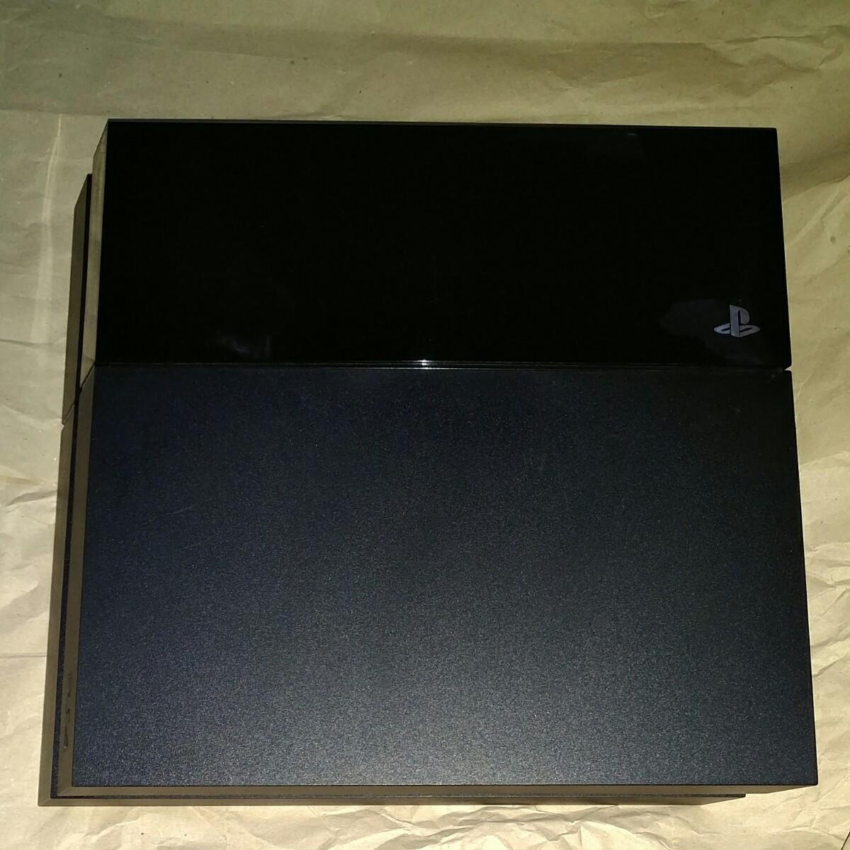 PS4 動作確認済み ジェットブラック PS4本体