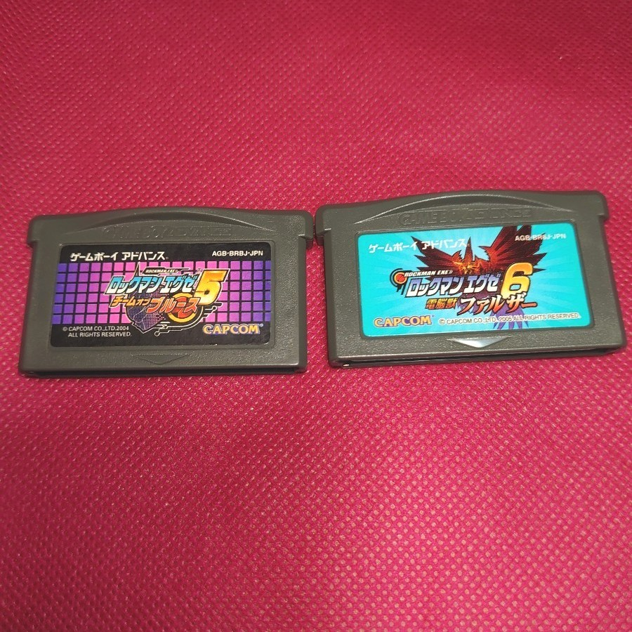 ロックマンエグゼ5 6  GBA