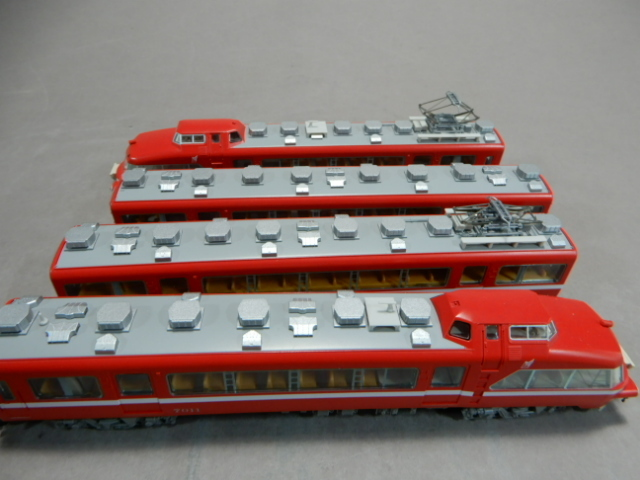 TOMIX 92960 名鉄7000系 パノラマカー 第11編成 復活白帯 鉄道模型 トミックス コレクション G-3_画像5