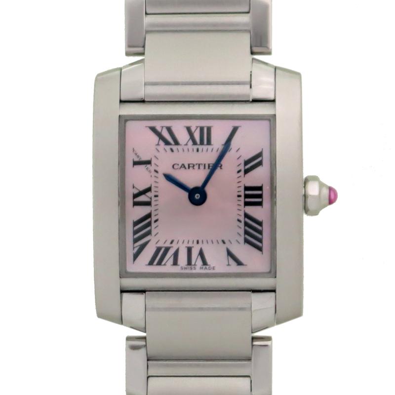 [銀座店]CARTIER カルティエ タンクフランセーズ ウォッチ SM W51028Q3 (2384) 腕時計 ステンレススチール DH60103