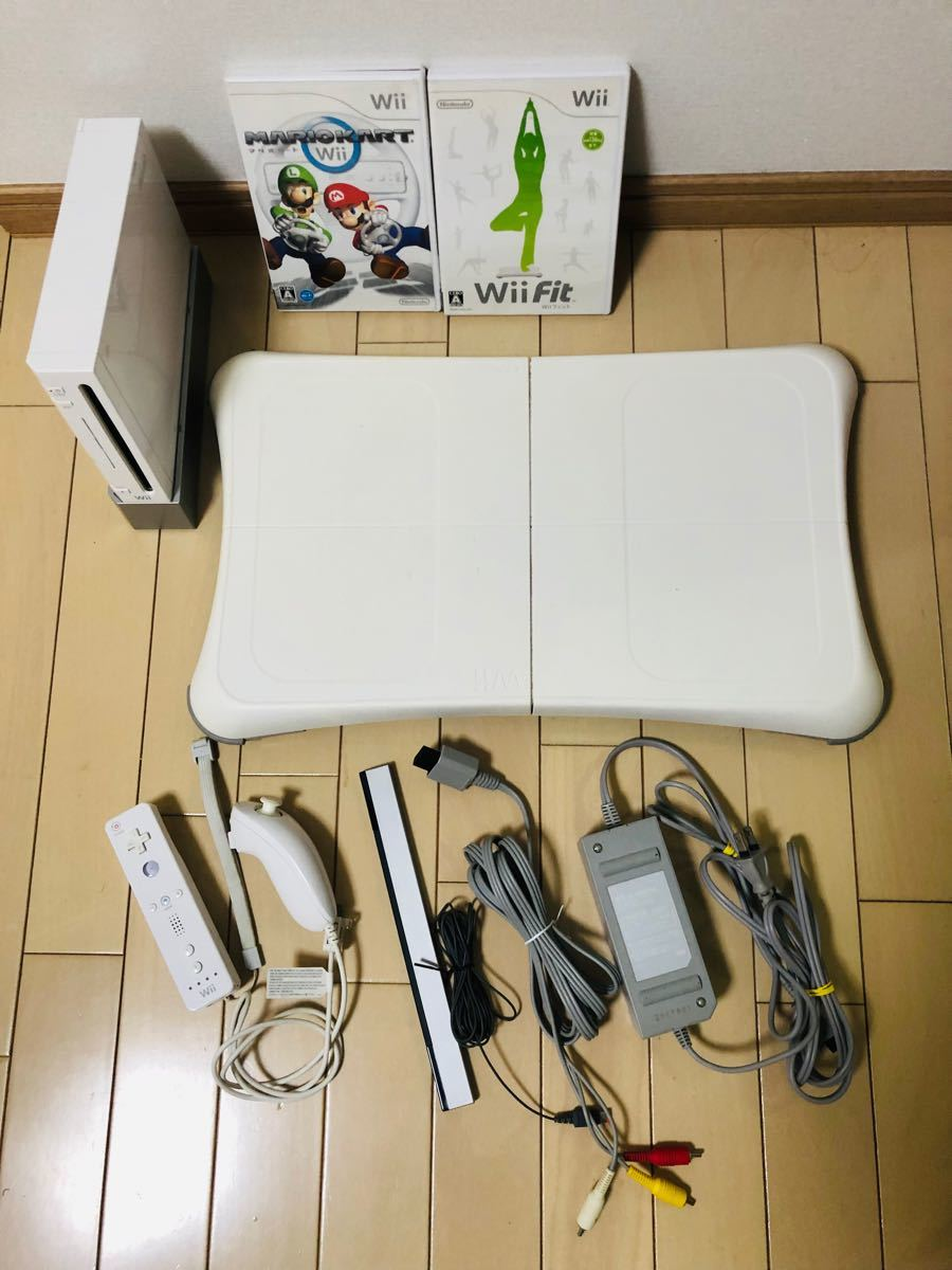 wii/マリオカート/Wii Fit/バランスボード