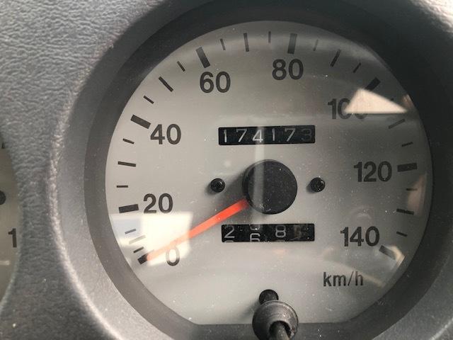 【美品】 JA22 希少 ジムニー 車検 ほぼ 2年付 オートマ AT エンジン絶好調 走行17.4万キロ JIMNY 社外バンパー スズキ 前橋 駒形より♪_画像7