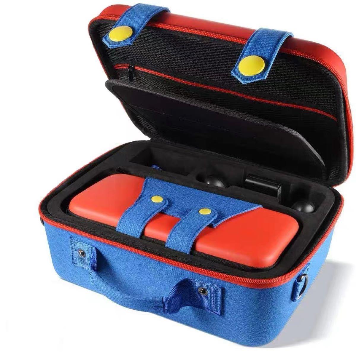 【新商品】大容量スイッチ ケース 収納バッグ オールインワン バッグ マリオケース