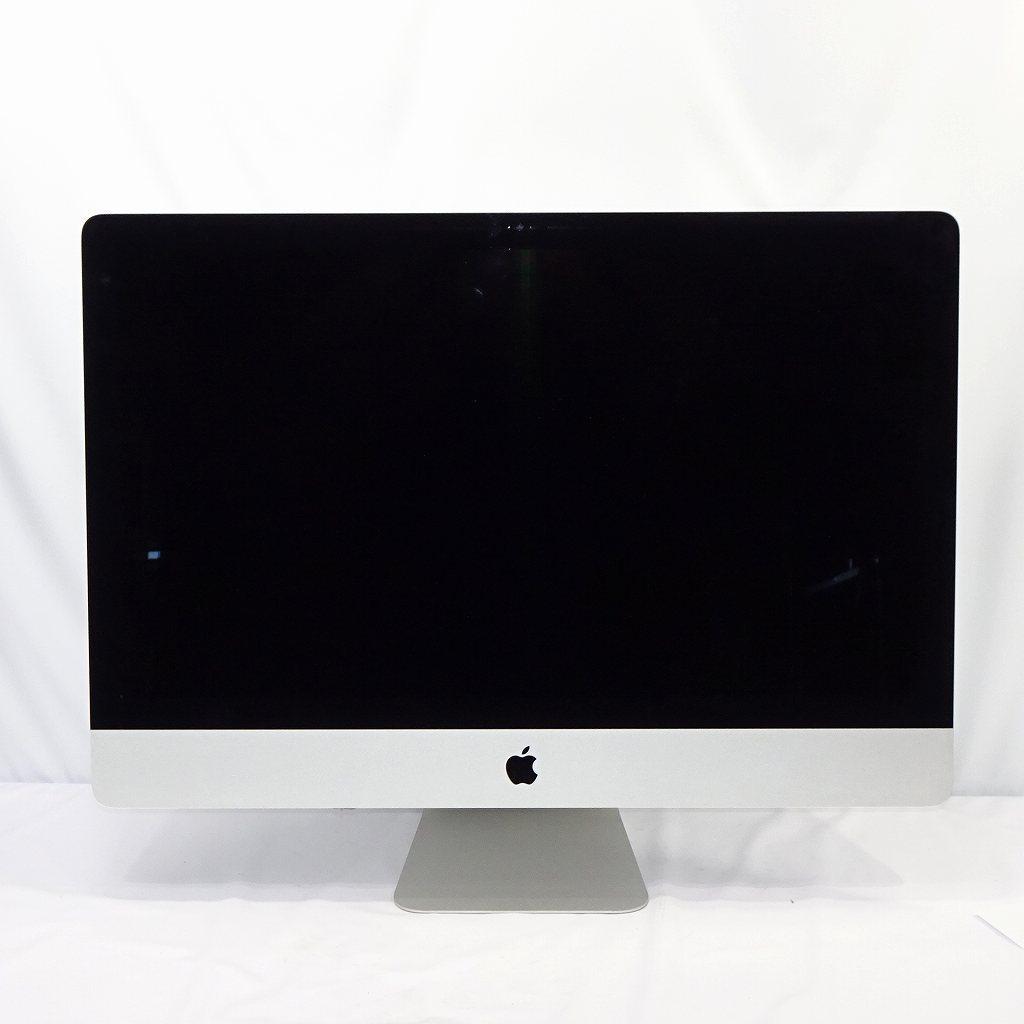 1円~ Apple iMac Retina 5K 27インチ Late 2015 Core i5-6500 3.2GHz/24GB/1000GB/OS無/