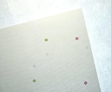 白色 B5判 50枚 【Amazon.co.jp 限定】和紙かわ澄 OA和紙 花ごよみ 白色 B5判 50枚_画像2