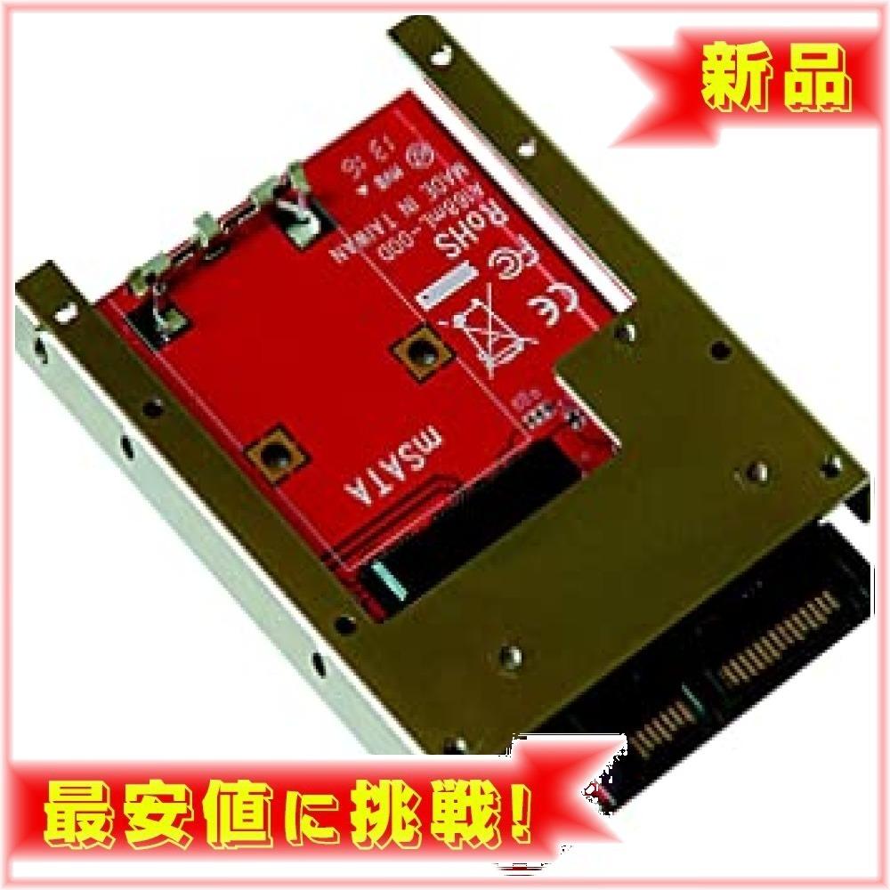 【】 : 玄人志向 セレクトシリーズ mSATA SSD SATA変換アダプター KRHK-MSATA/S7_画像1