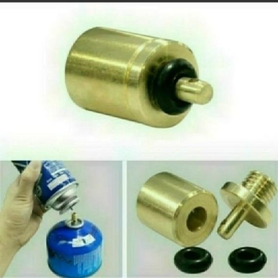 □ガス詰め替えアダプター ガス変換アダプター 各ひとつづつ 合計二個セット□