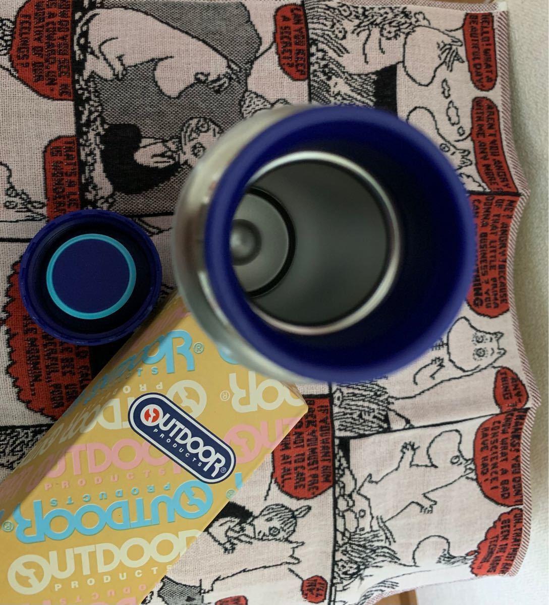 ネコ柄とお花柄 OUTDOOR PRODUCTS ステンレスボトル マグボトル 水筒  マイボトル