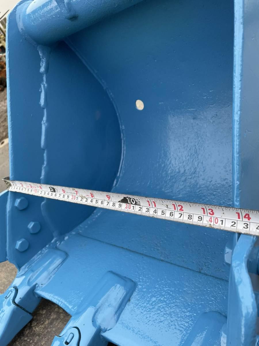 ユンボ バケット(ピン径35mm アーム先端幅123㎜ バケット幅 410mm  ショベル 重機 建機_画像8