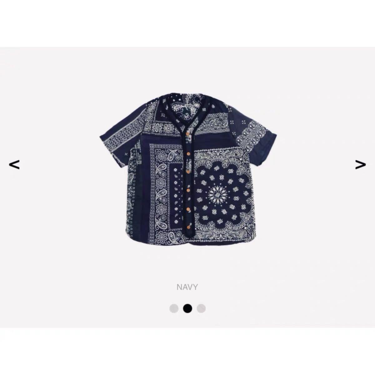 visvim 18ss ict dugout shirt navy サイズ2番 超限定 新品未使用