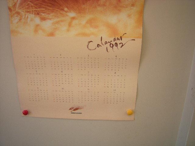 ニッカウイスキーカレンダー ポスター 1992年_画像6