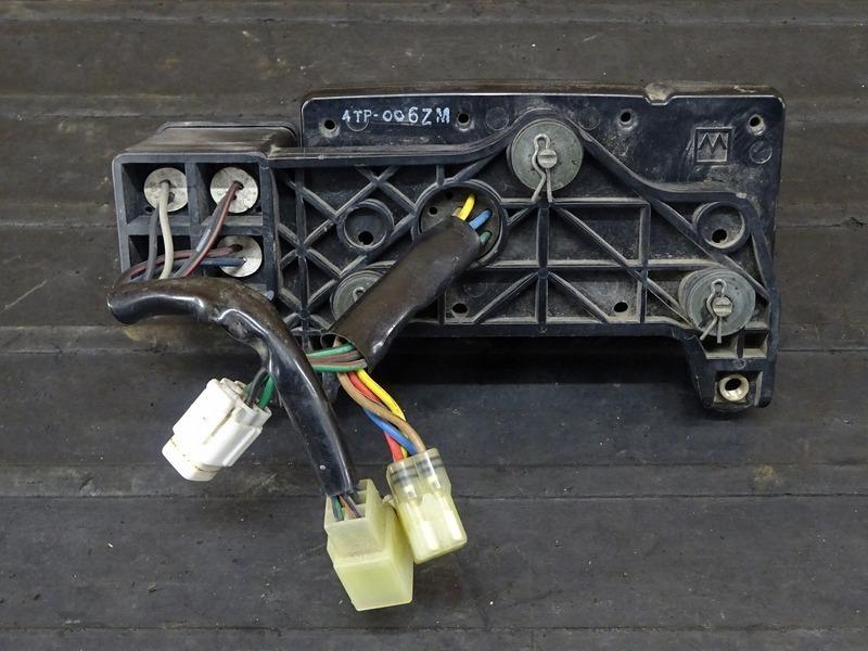 【210506】DT230 ランツァ(4TP-003)■ スピードメーター タコメーター インジケーターランプ 33316㎞ 【LANZA_画像4