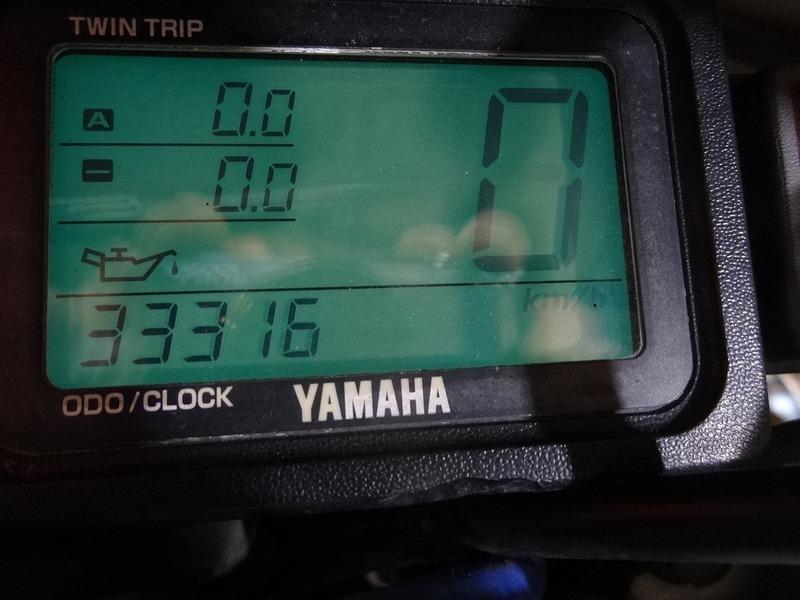 【210506】DT230 ランツァ(4TP-003)■ スピードメーター タコメーター インジケーターランプ 33316㎞ 【LANZA_画像3